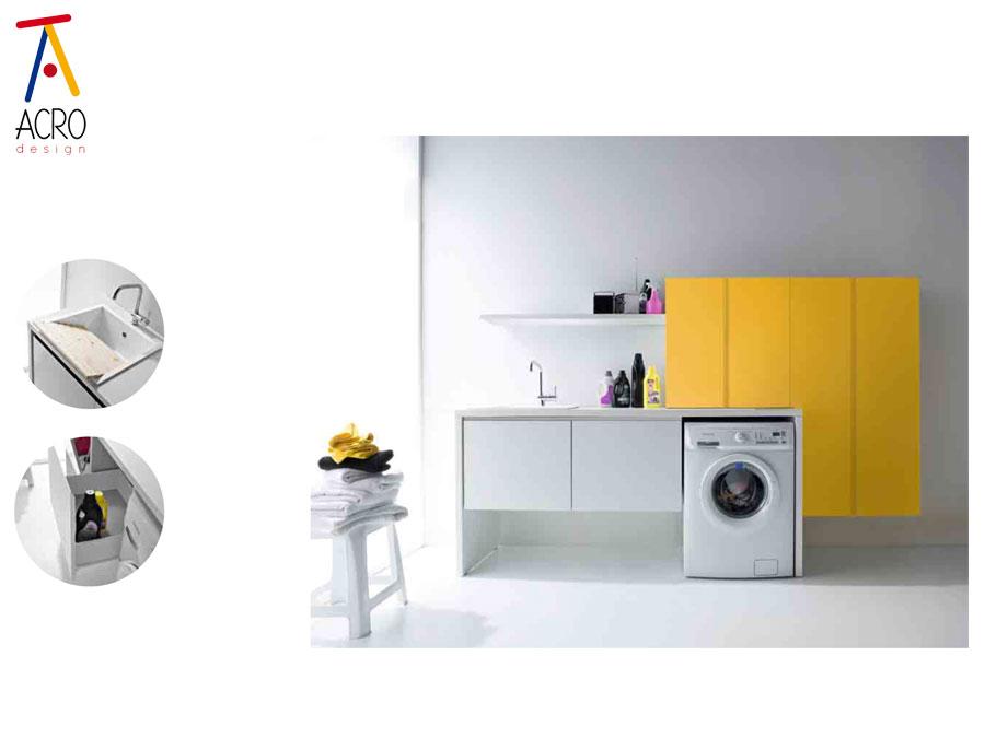 Arredamento per lavanderia di casa