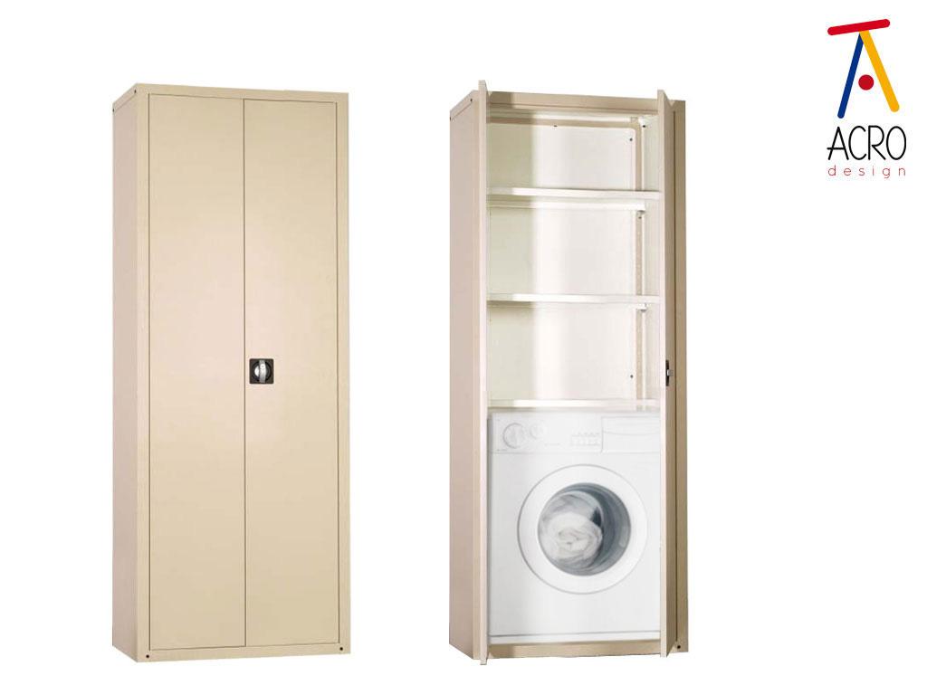 Mobili porta lavatrici e asciugatrici arredo lavanderia - Mobile per lavatrice e asciugatrice ...