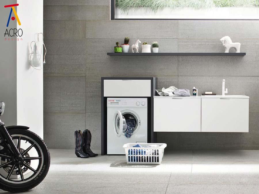 mobili per lavatrici