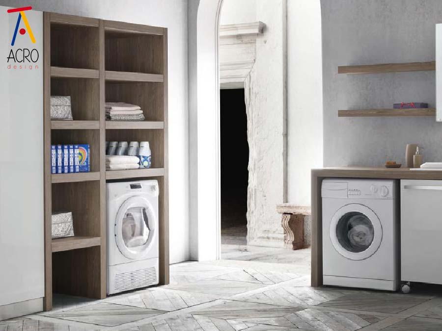 Mobili porta lavatrice asciugatrice arredo lavanderia - Mobile per lavatrice ikea ...