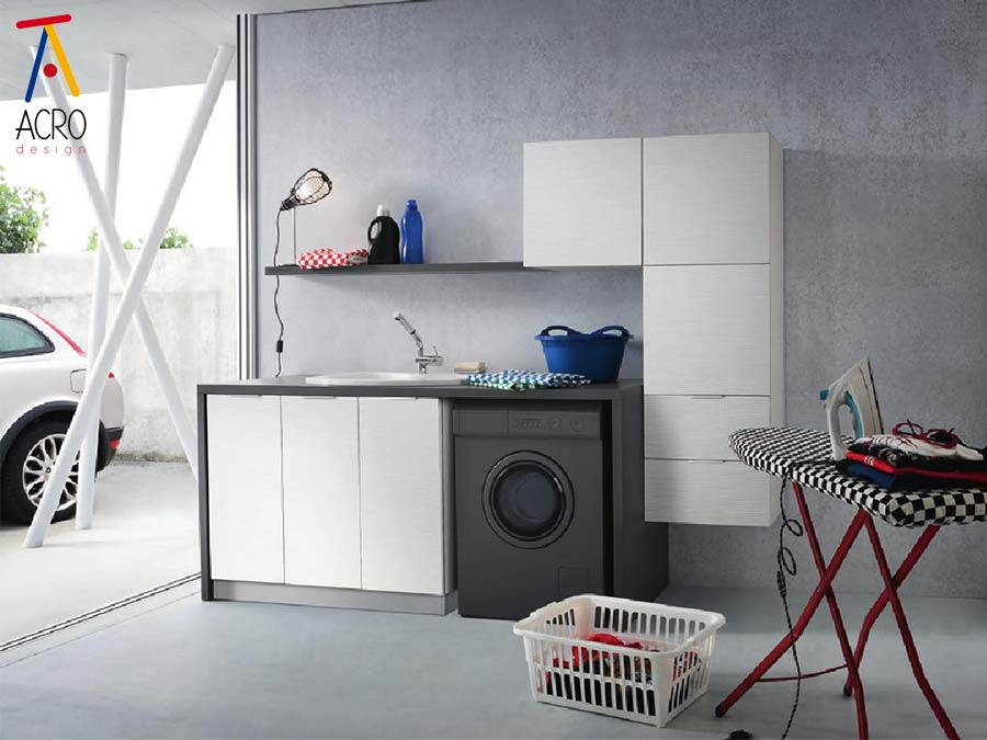 arredamento au misura della lavanderia di casa