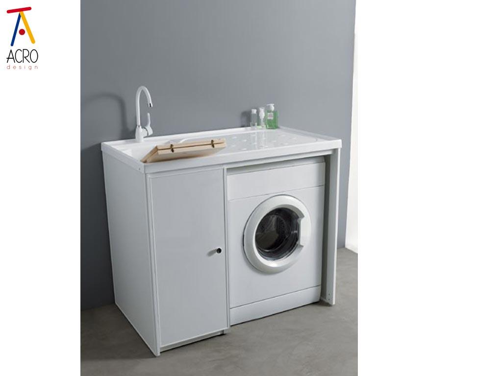 Porta lavatrici arredo lavanderia - Mobile porta lavatrice ...