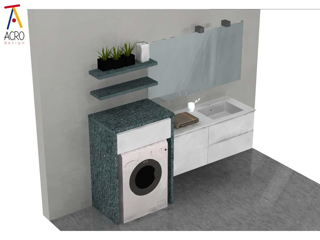 mobili lavanderia su misura