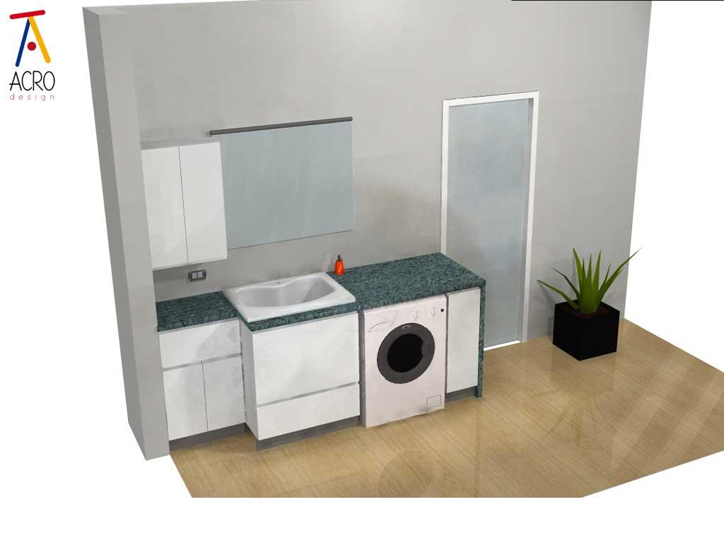 arredamento lavanderia su misura