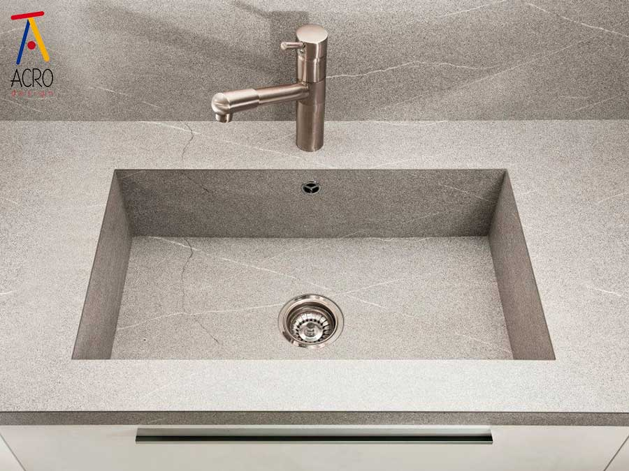 SERIE SODIO top lavabo integrato